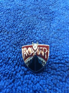 Rover lapel pin badges