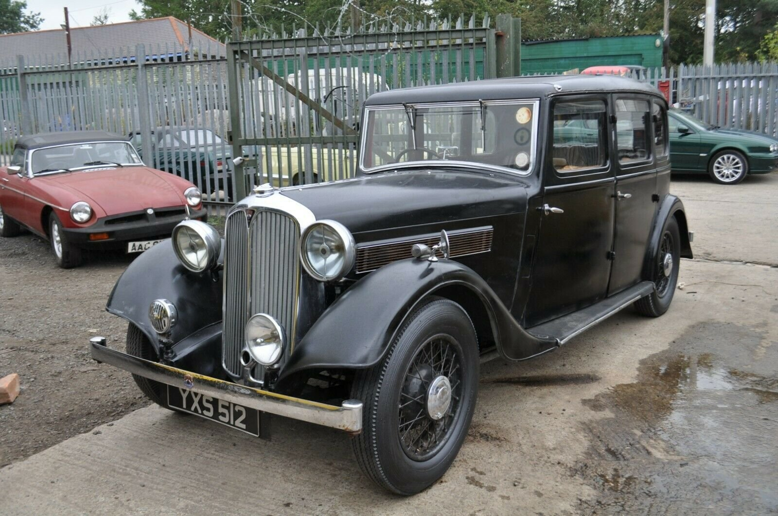 1935 ROVER P2 STUNNING VINTAGE CAR TAX & MOT EXEMPT SOLD (picture 1 of 6)