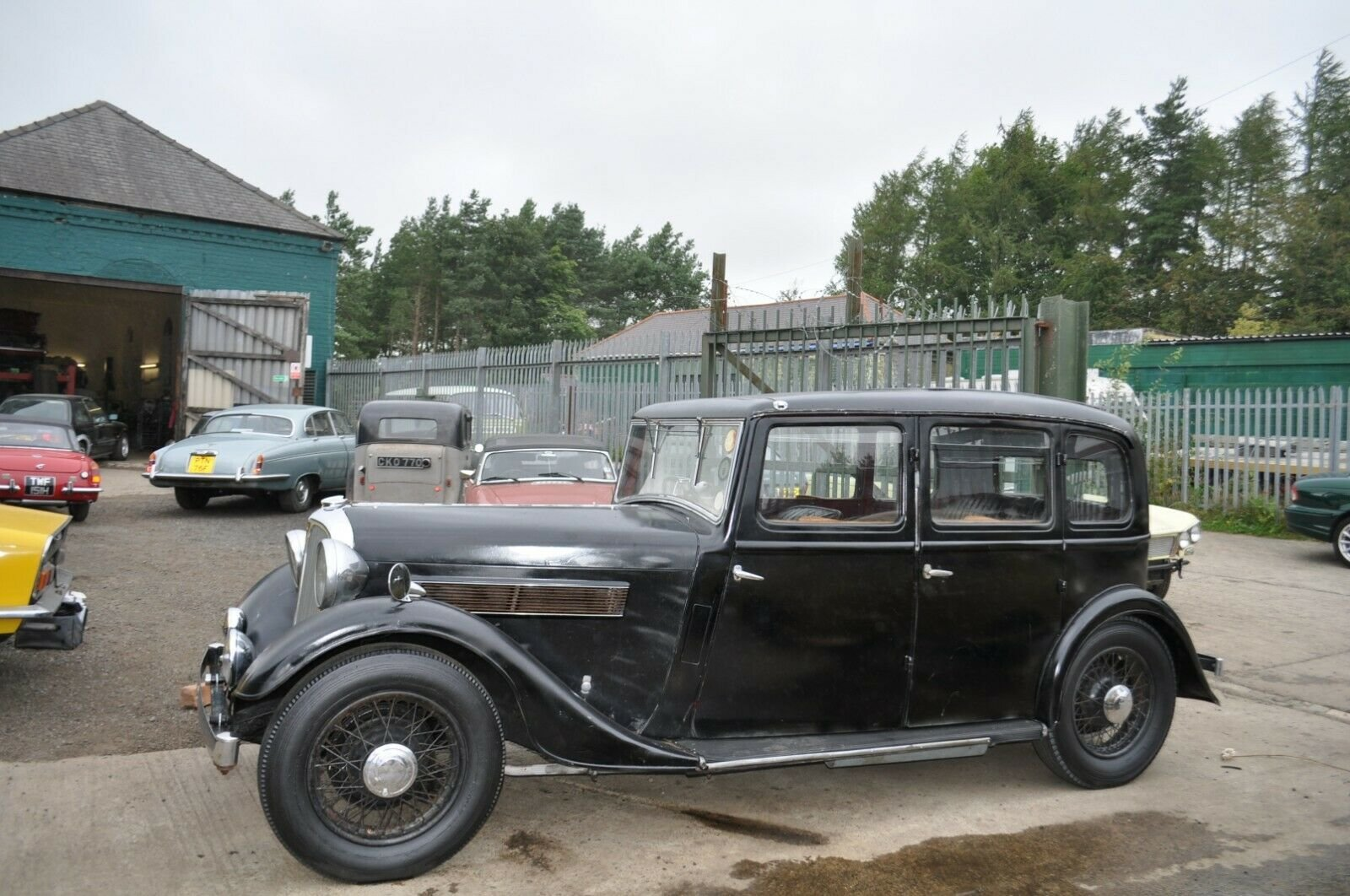 1935 ROVER P2 STUNNING VINTAGE CAR TAX & MOT EXEMPT SOLD (picture 2 of 6)