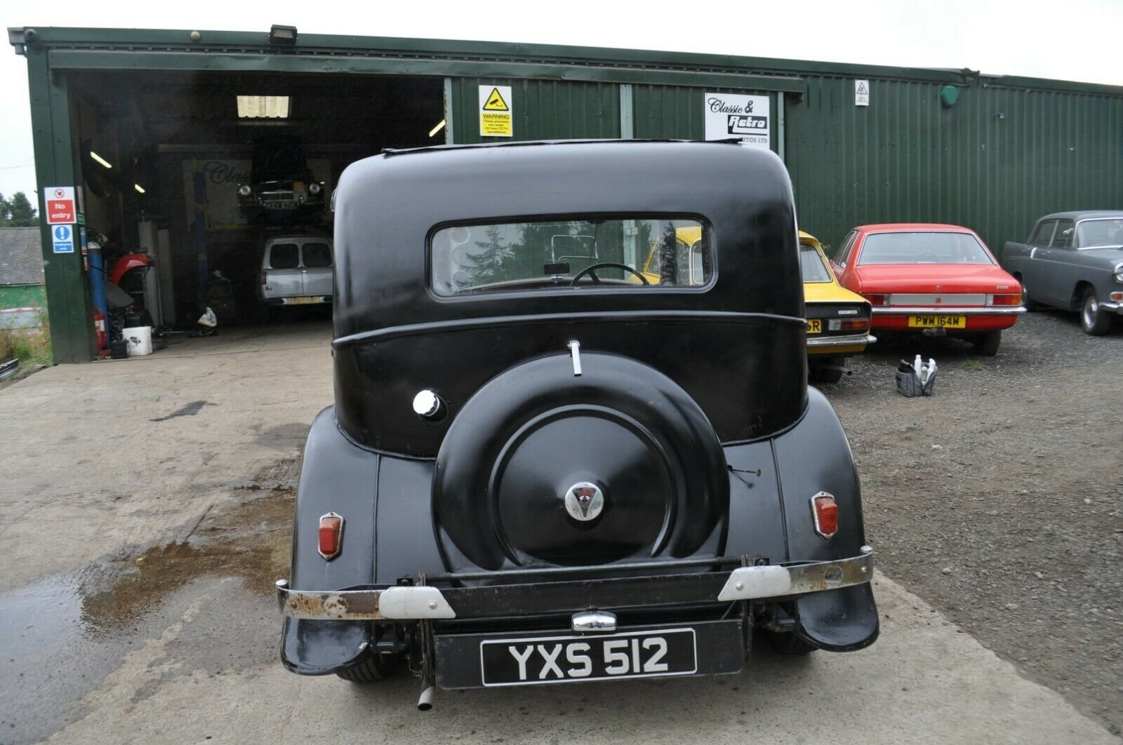 1935 ROVER P2 STUNNING VINTAGE CAR TAX & MOT EXEMPT SOLD (picture 3 of 6)