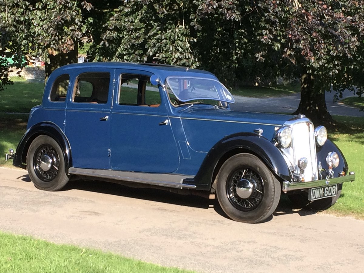 1938 ROVER 14 P2 six-light saloon. SOLD (picture 1 of 6)