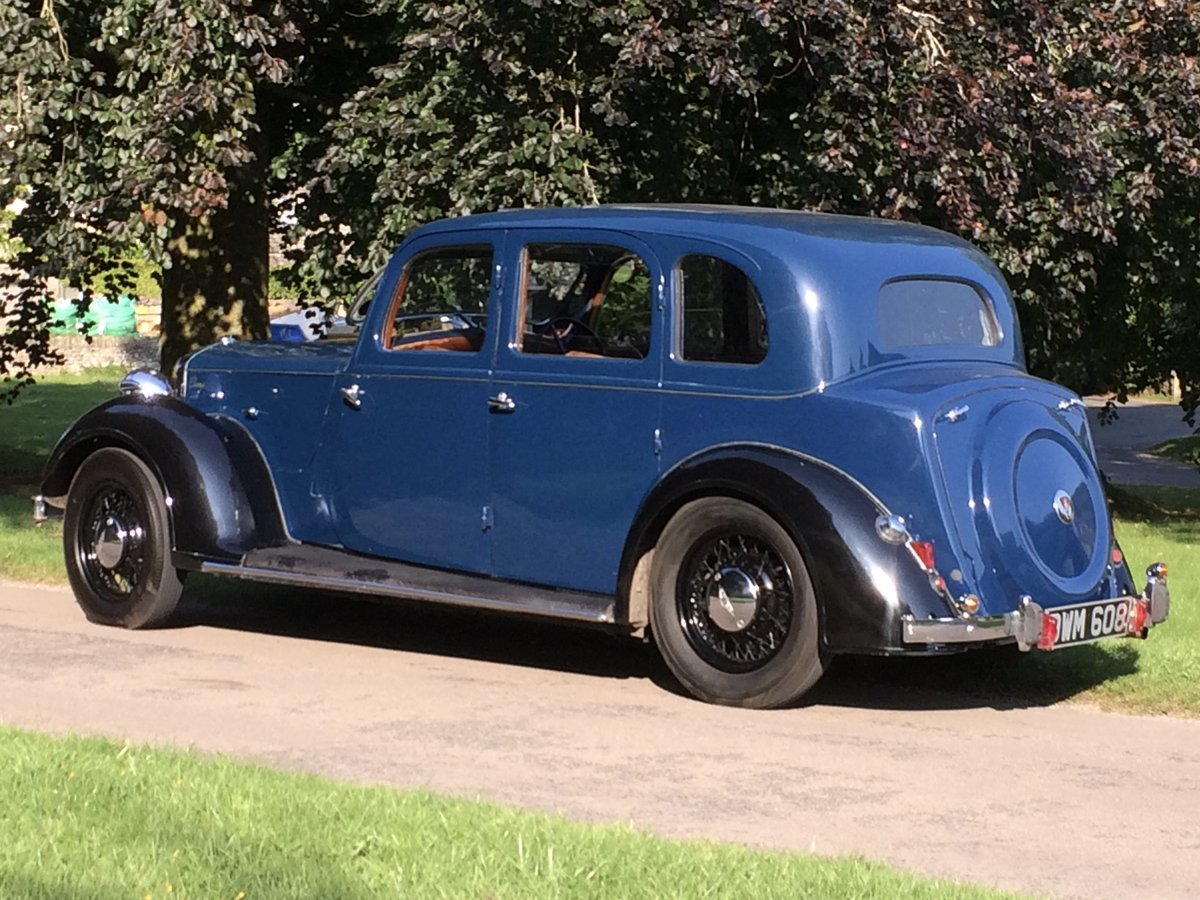 1938 ROVER 14 P2 six-light saloon. SOLD (picture 3 of 6)