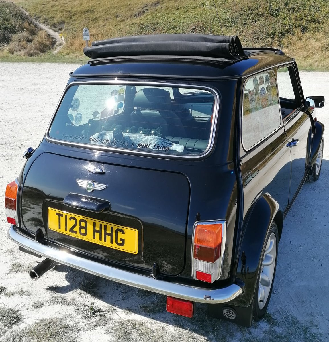 1999 Rover Mini Cooper Sport with full electric sunroof For Sale (picture 2 of 6)