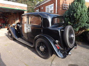 1934 Rover 12hp Sports Saloon