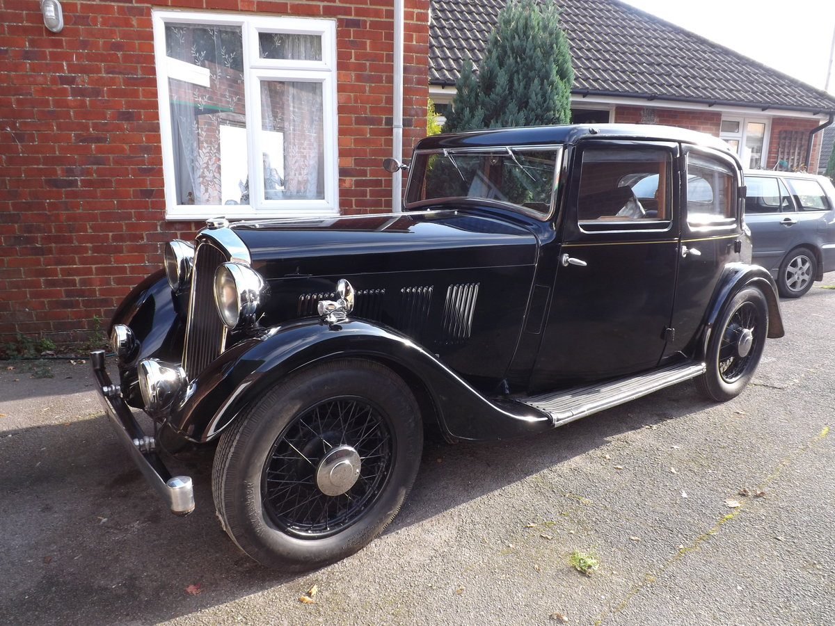 1934 Rover 12hp Sports Saloon SOLD (picture 2 of 6)