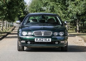 2002 Rover 75 Connoisseur For Sale by Auction