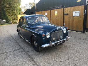 1958 Rover 90 P4