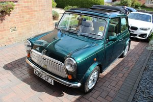 1992 Rover Mini British Open Classic '92-To be auctioned 25-10-19