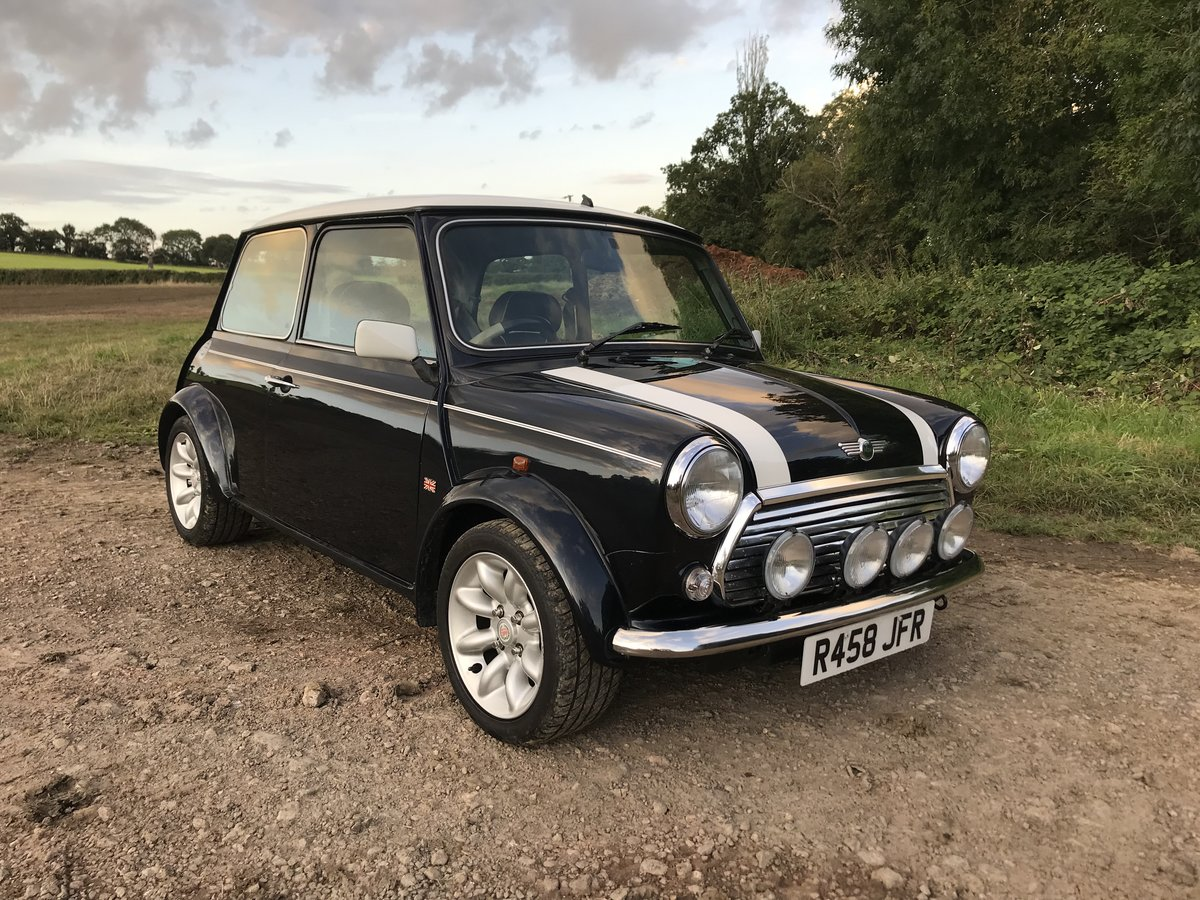 1998 Mini Cooper Sport with low miles For Sale (picture 2 of 6)