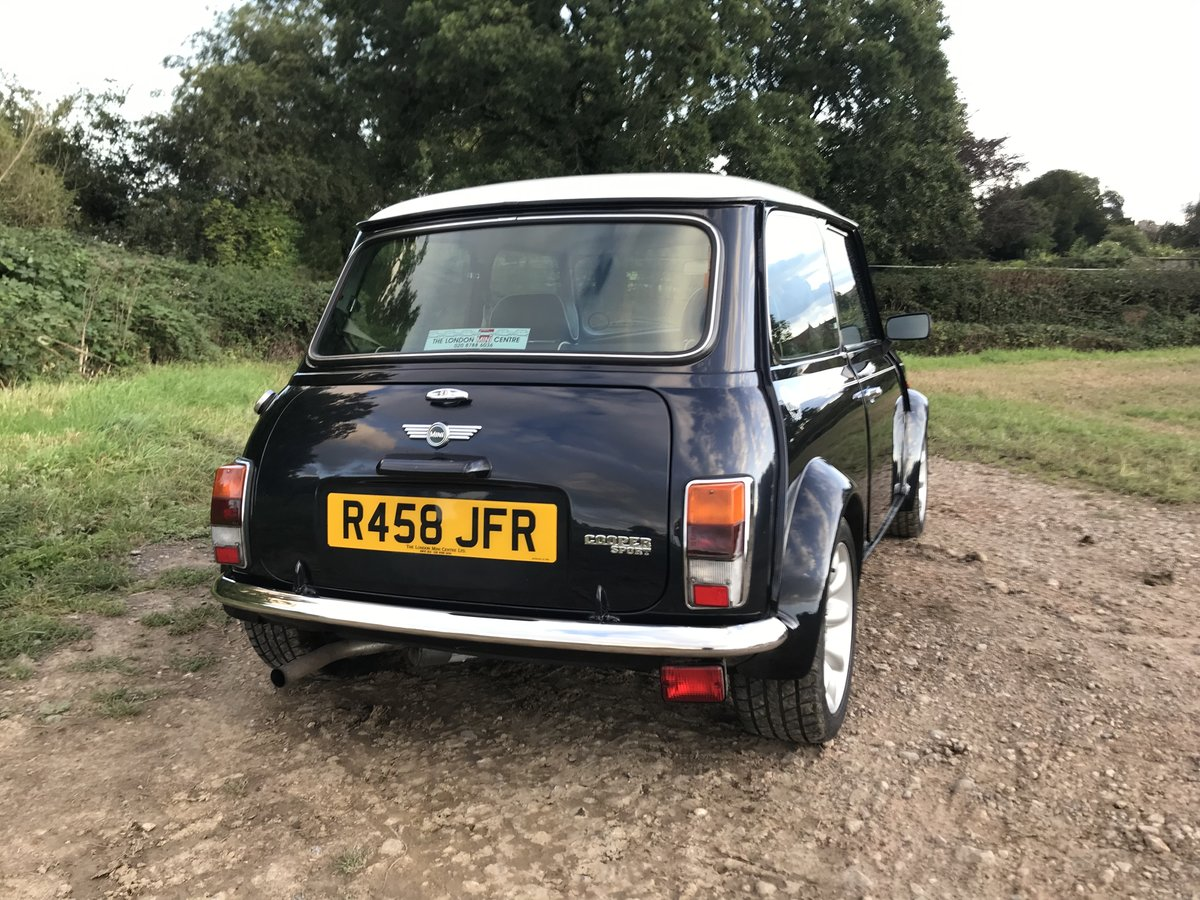 1998 Mini Cooper Sport with low miles For Sale (picture 3 of 6)