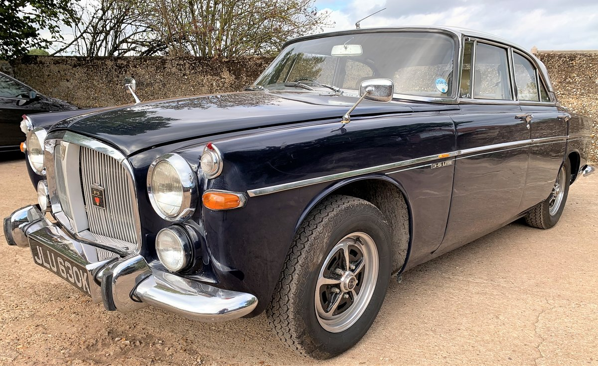 1971 Rover P5b coupe+restored+4 owners+drives superbly For Sale (picture 1 of 6)