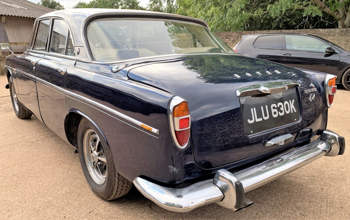 1971 Rover P5b coupe+restored+4 owners+drives superbly For Sale (picture 5 of 6)