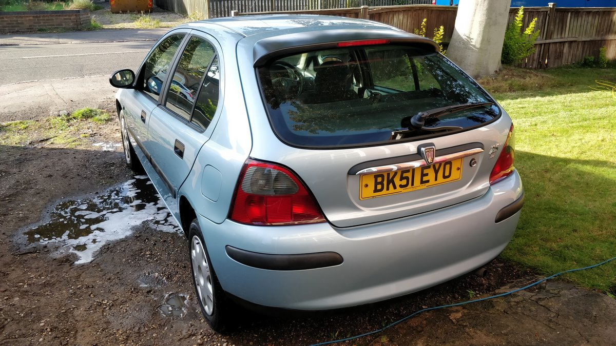 2001 Rover 25 1.4 Petrol For Sale (picture 2 of 6)