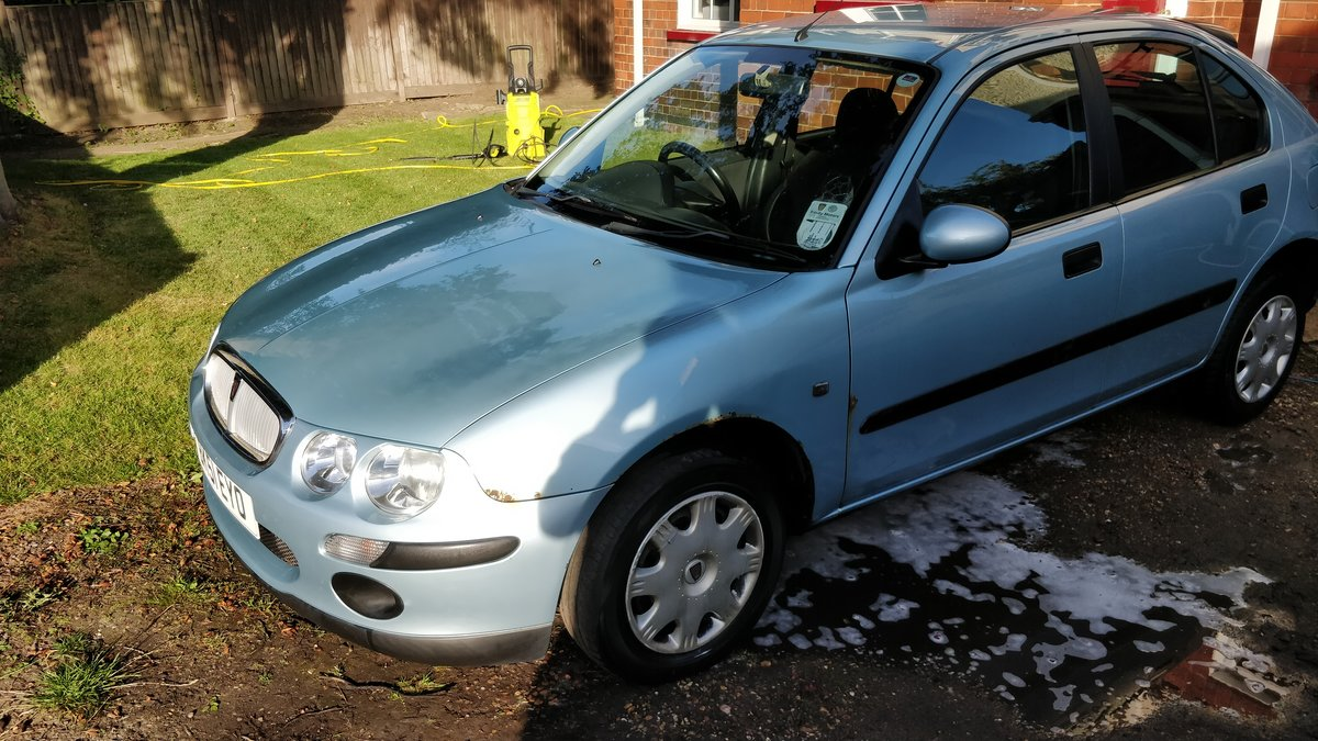 2001 Rover 25 1.4 Petrol For Sale (picture 6 of 6)