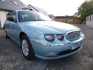 2004 Rover 75 15,523 Miles From New 1.8 Blue Time Warp