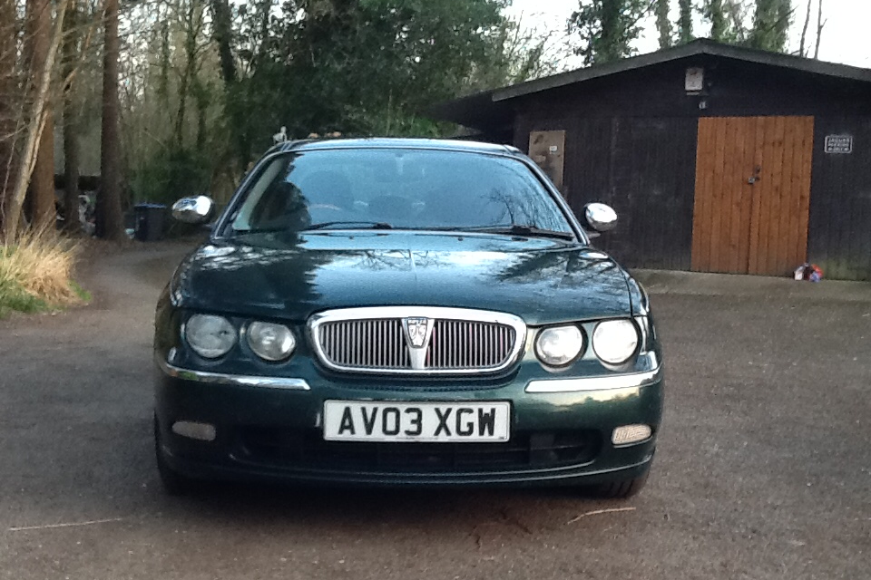 2003 Great Rover 75 Connoisseur 1.8 T For Sale (picture 1 of 6)