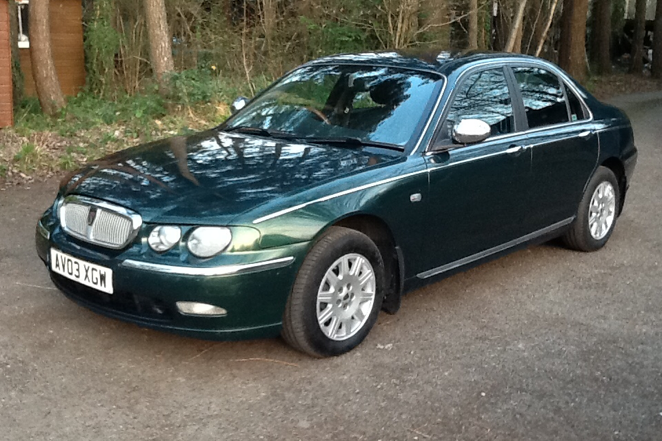 2003 Great Rover 75 Connoisseur 1.8 T For Sale (picture 2 of 6)