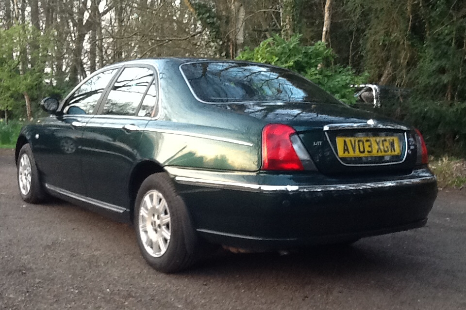 2003 Great Rover 75 Connoisseur 1.8 T For Sale (picture 3 of 6)