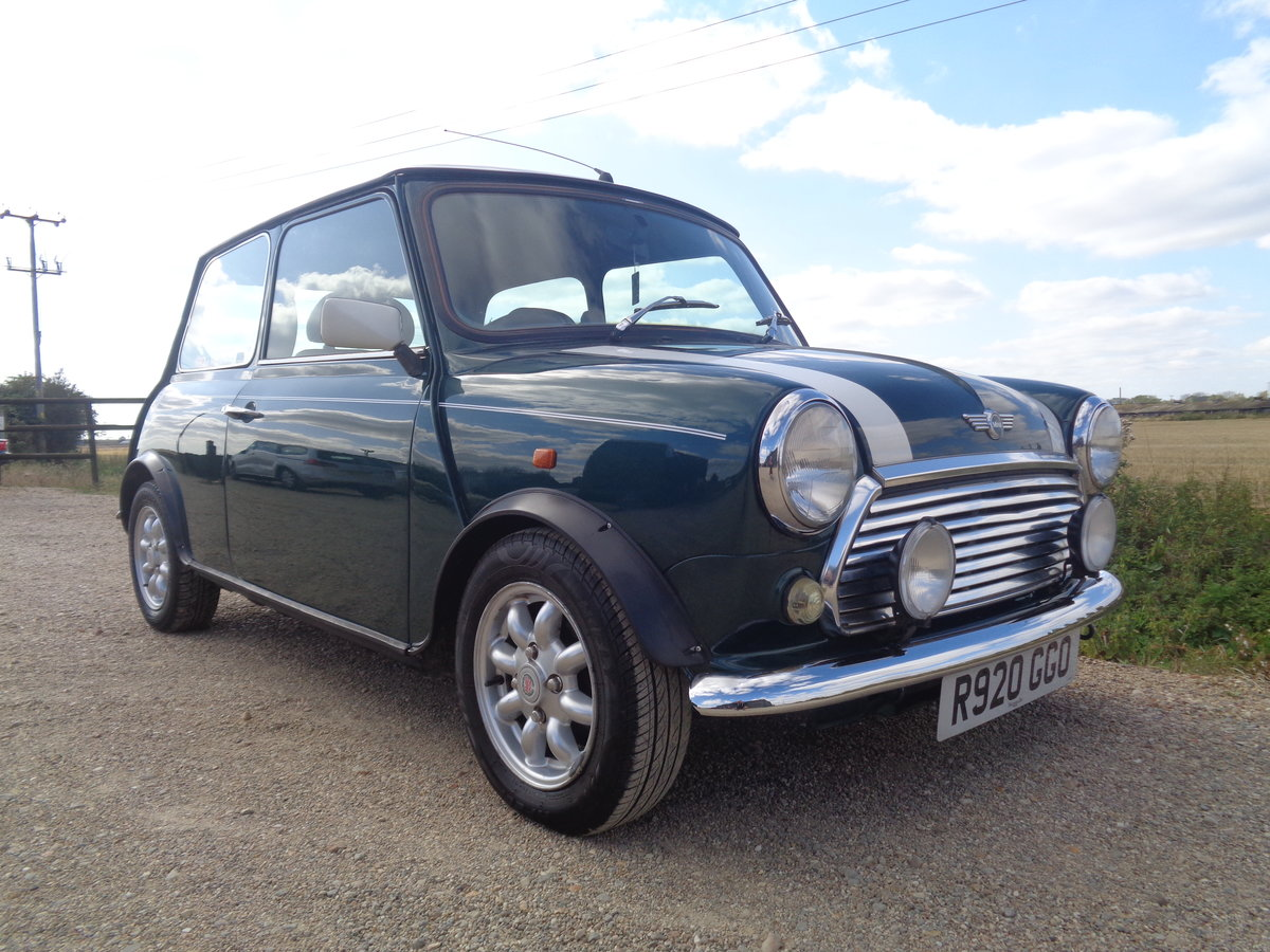 1997 Mini cooper 1275 - 49k 2 owners mint !! For Sale (picture 1 of 6)
