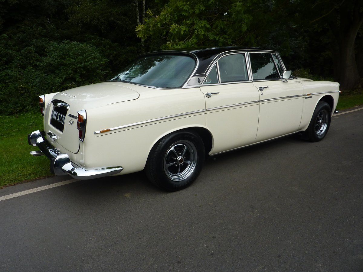 1970 Rover P5B Coupe - Stunning and Restored For Sale by Auction (picture 1 of 6)