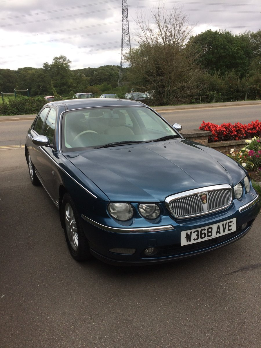 2000 Rover 75 club cdt se. Manual. Lovely example. For Sale (picture 1 of 1)