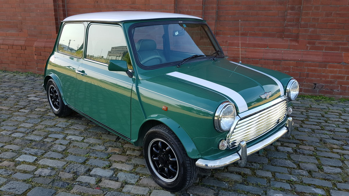 1996 ROVER MINI COOPER 35th ANNIVERSARY EDITION ONLY 45000 MILES For Sale (picture 1 of 6)