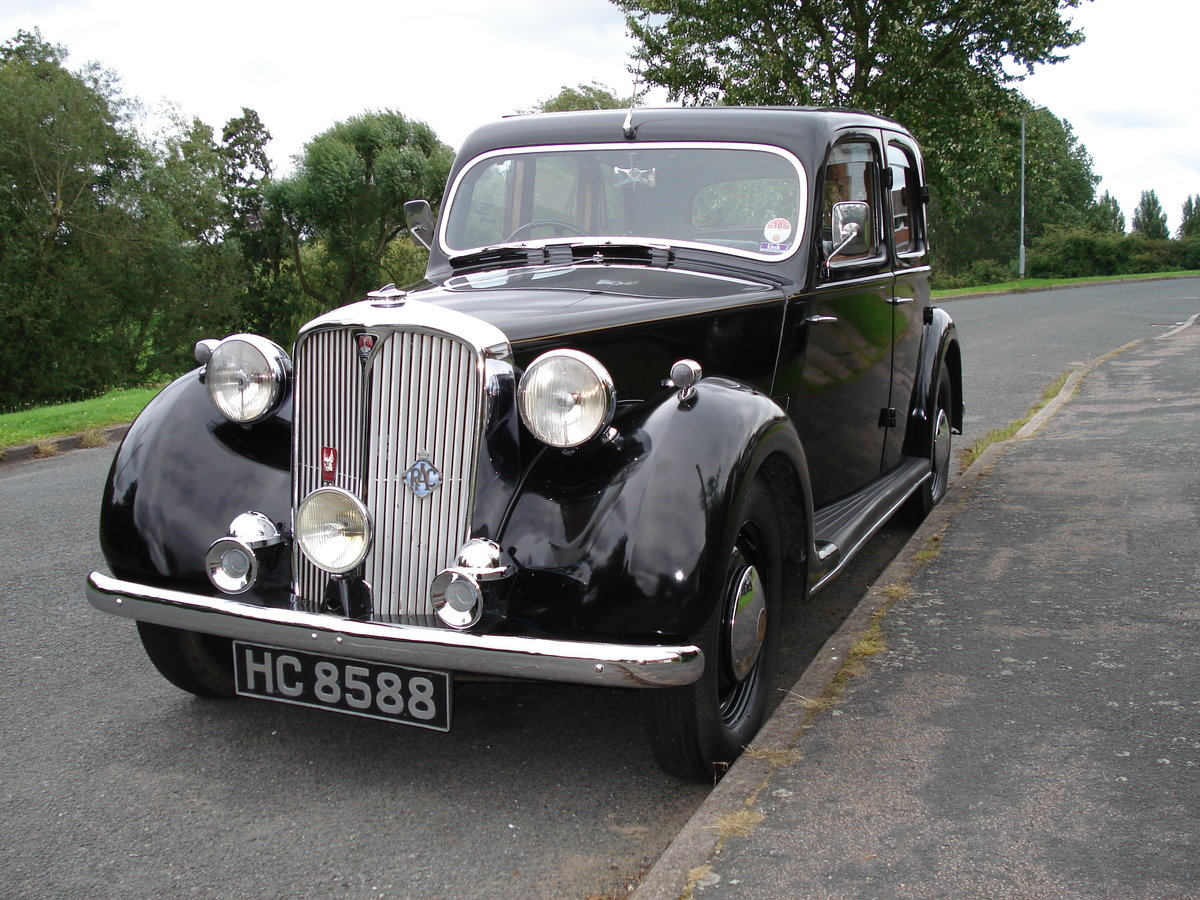1948 Rover P3 Sports Saloon SOLD (picture 1 of 6)