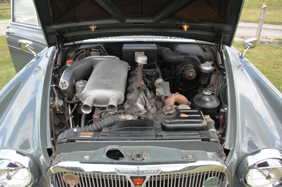 1963 Rover 3 litre P5 Coupe' For Sale (picture 6 of 6)