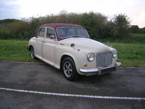 1955  Rover P4 90 Diesel Automatic Historic Vehicle