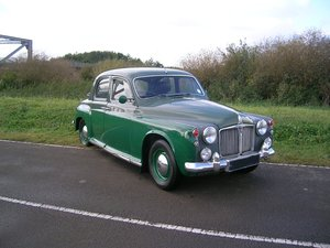 1959  Rover P4 60 Diesel Historic Vehicle