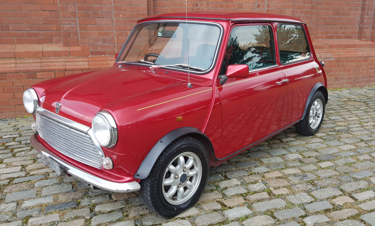 1996 ROVER MINI RARE INVESTABLE CLASSIC MINI TARTAN 1300 MANUAL  For Sale (picture 1 of 6)