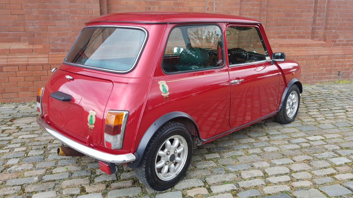 1996 ROVER MINI RARE INVESTABLE CLASSIC MINI TARTAN 1300 MANUAL  For Sale (picture 2 of 6)