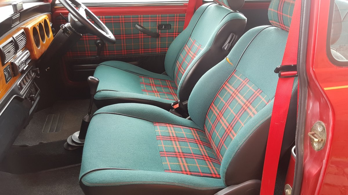 1996 ROVER MINI RARE INVESTABLE CLASSIC MINI TARTAN 1300 MANUAL  For Sale (picture 3 of 6)