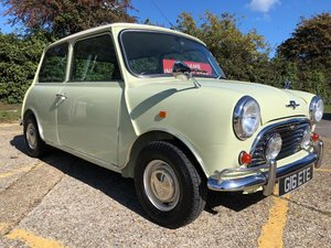 1993 Rover Mini 1300i. Fiesta Yellow. MK1 features. Stunning For Sale