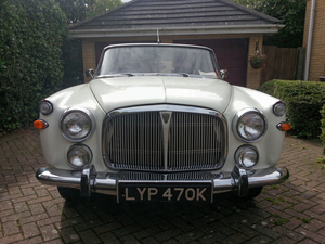 1972 Rover P5B Coupé - recently restored