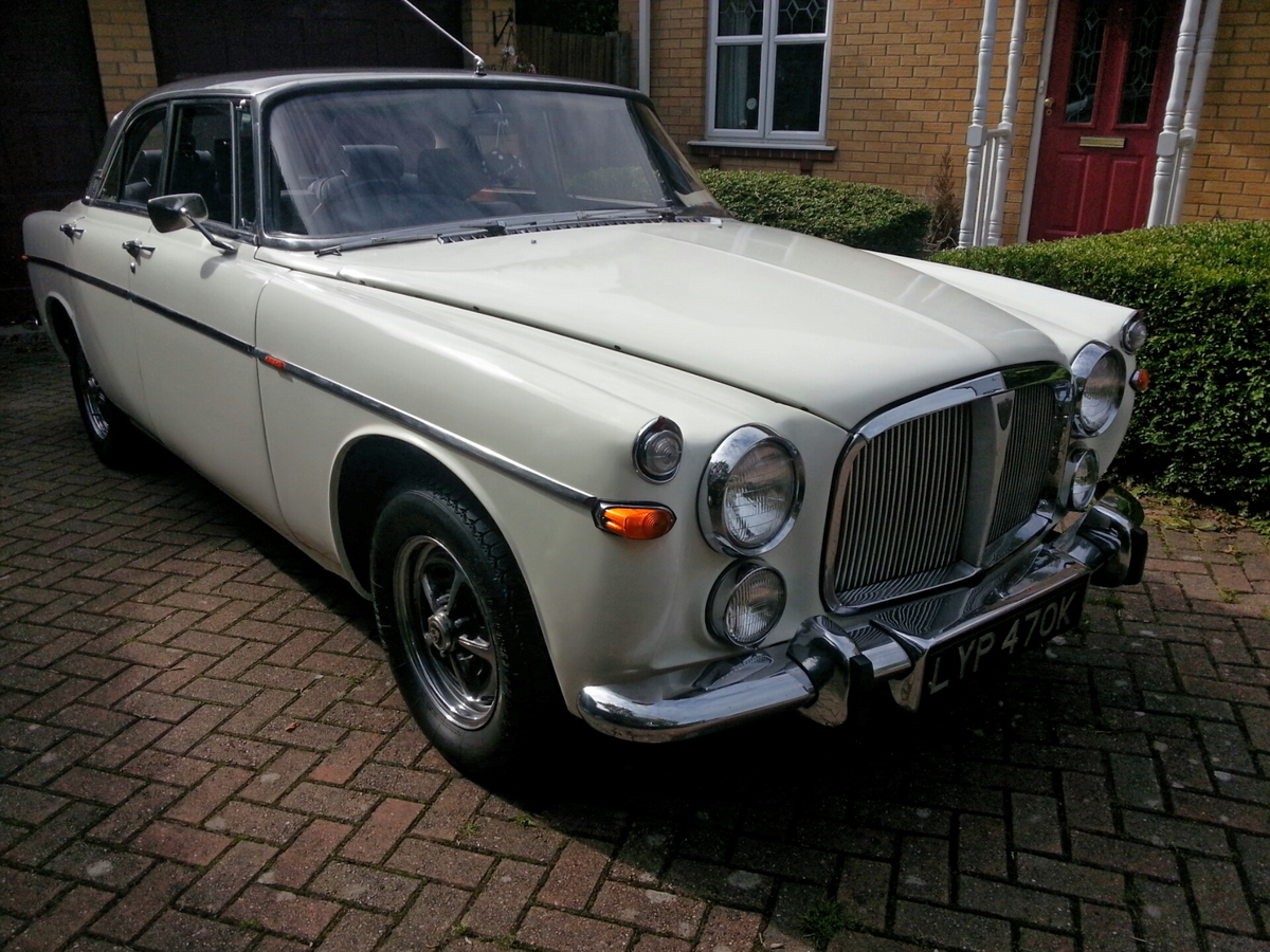 1972 Rover P5B Coupé - recently restored For Sale (picture 2 of 6)