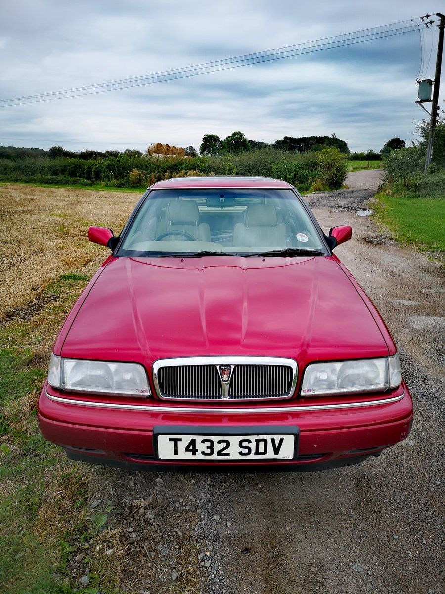 1999 Rover Sterling Hatchback new MOT & Low Miles For Sale (picture 1 of 6)