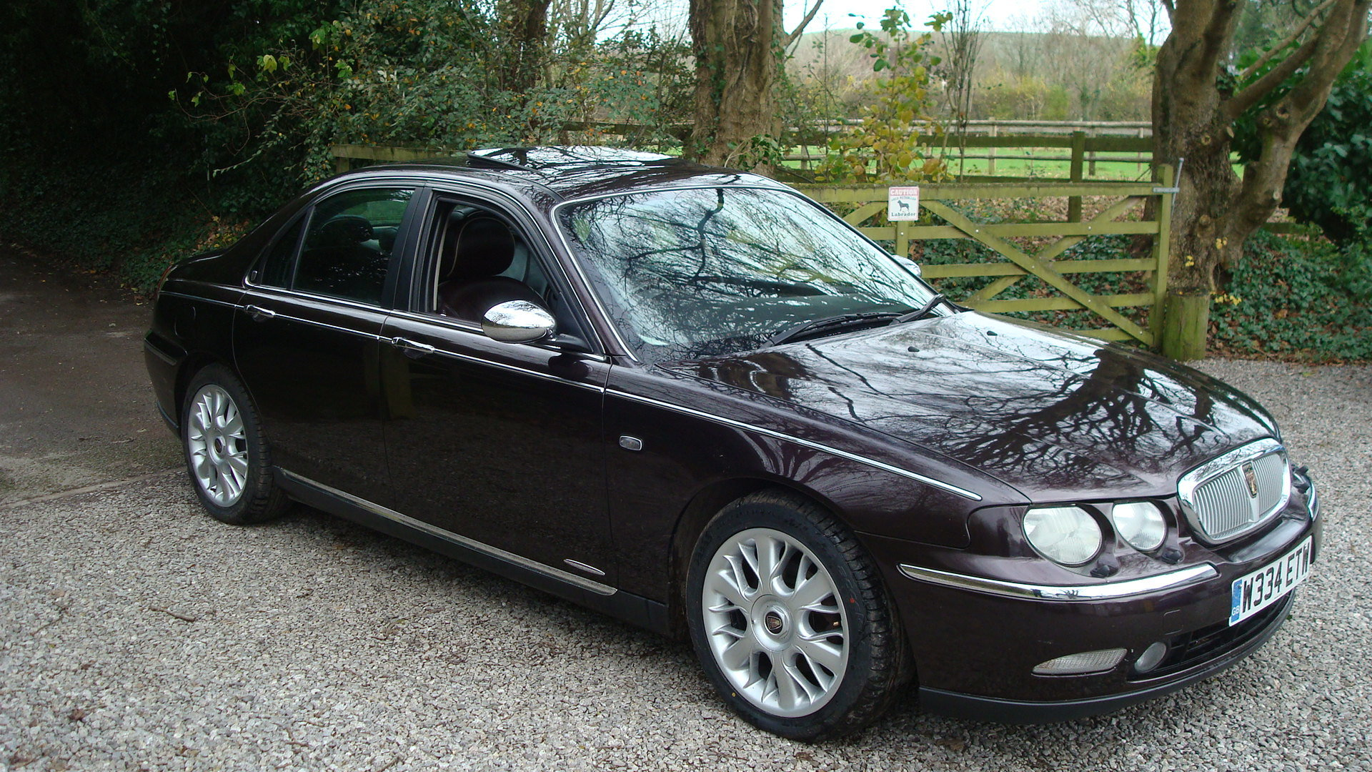 2000 Rover 75 2.5 V6 Connoisseur SE For Sale (picture 1 of 6)