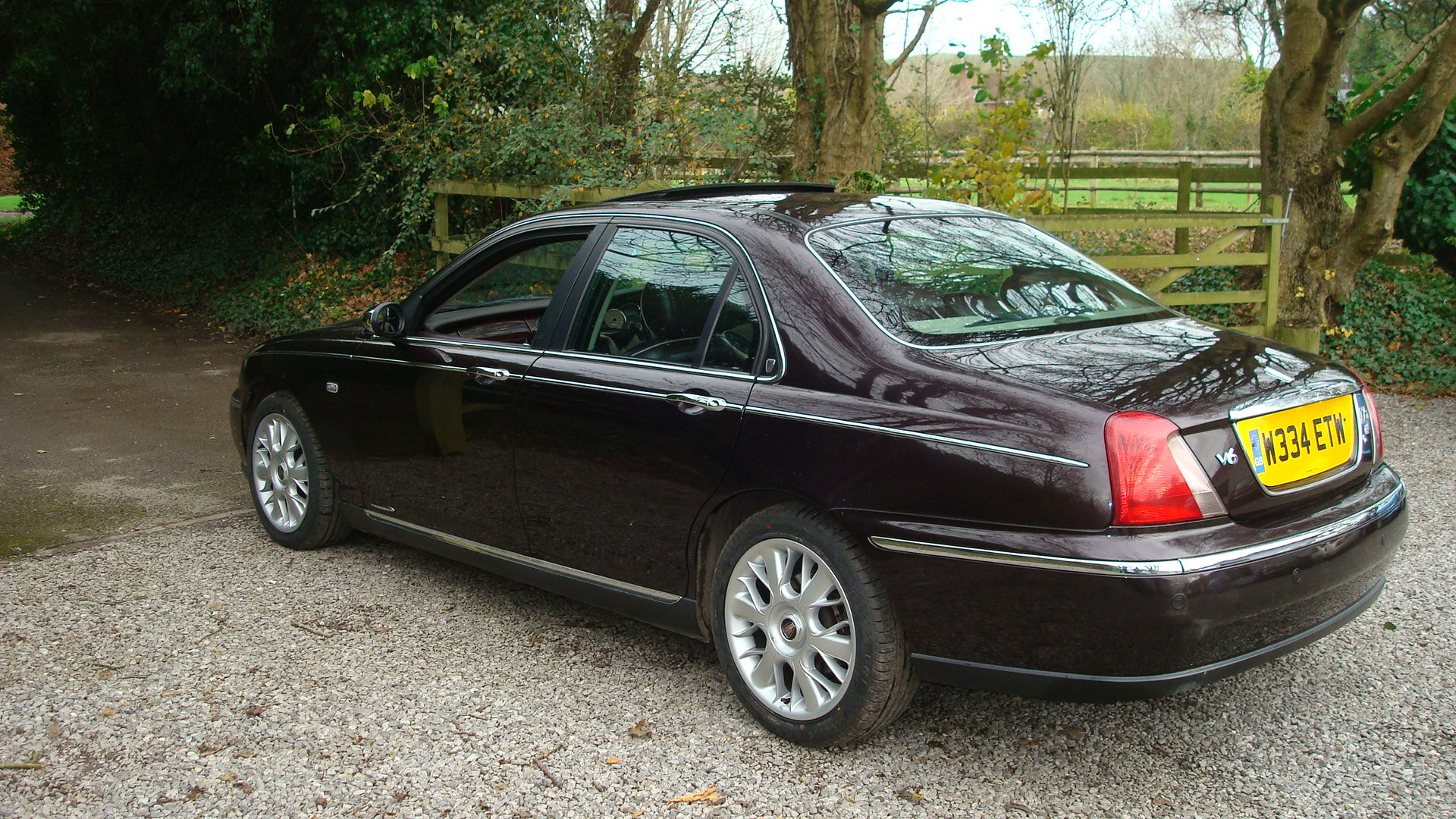 2000 Rover 75 2.5 V6 Connoisseur SE For Sale (picture 4 of 6)