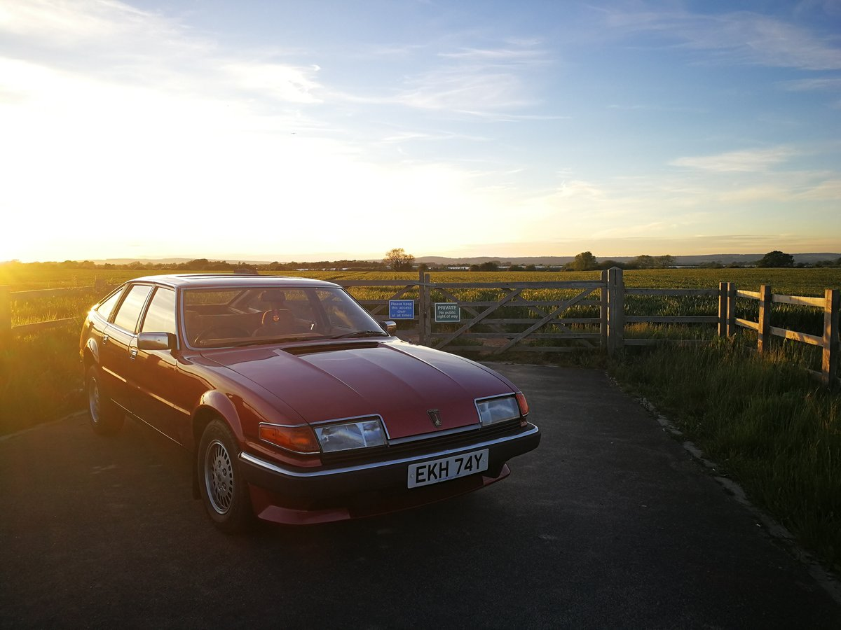 1982 Rover SD1 2300S. 45,000 Genuine Miles. For Sale (picture 1 of 6)