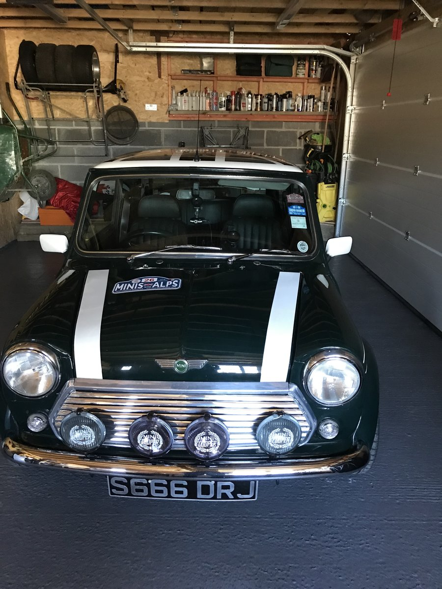 1998 Rover Mini Cooper Sport LE 1 of only23 Left For Sale (picture 1 of 6)