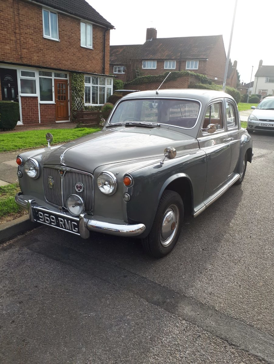 1958 Rover P4 90  For Sale (picture 2 of 6)