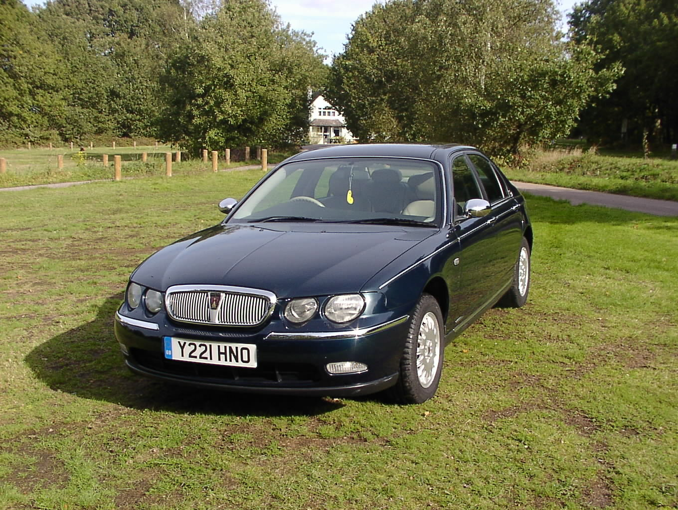 2001 Rover 75  2.5V6 Club Special Order 35000 miles fsh For Sale (picture 2 of 6)