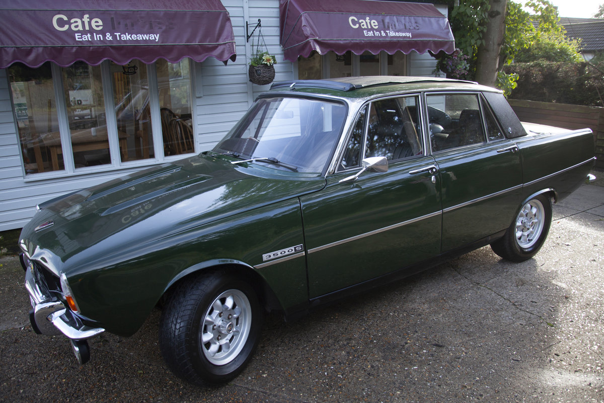 1972 Rover P6 3500S 3.5 RPi Overhauled V8 Manual For Sale (picture 1 of 6)