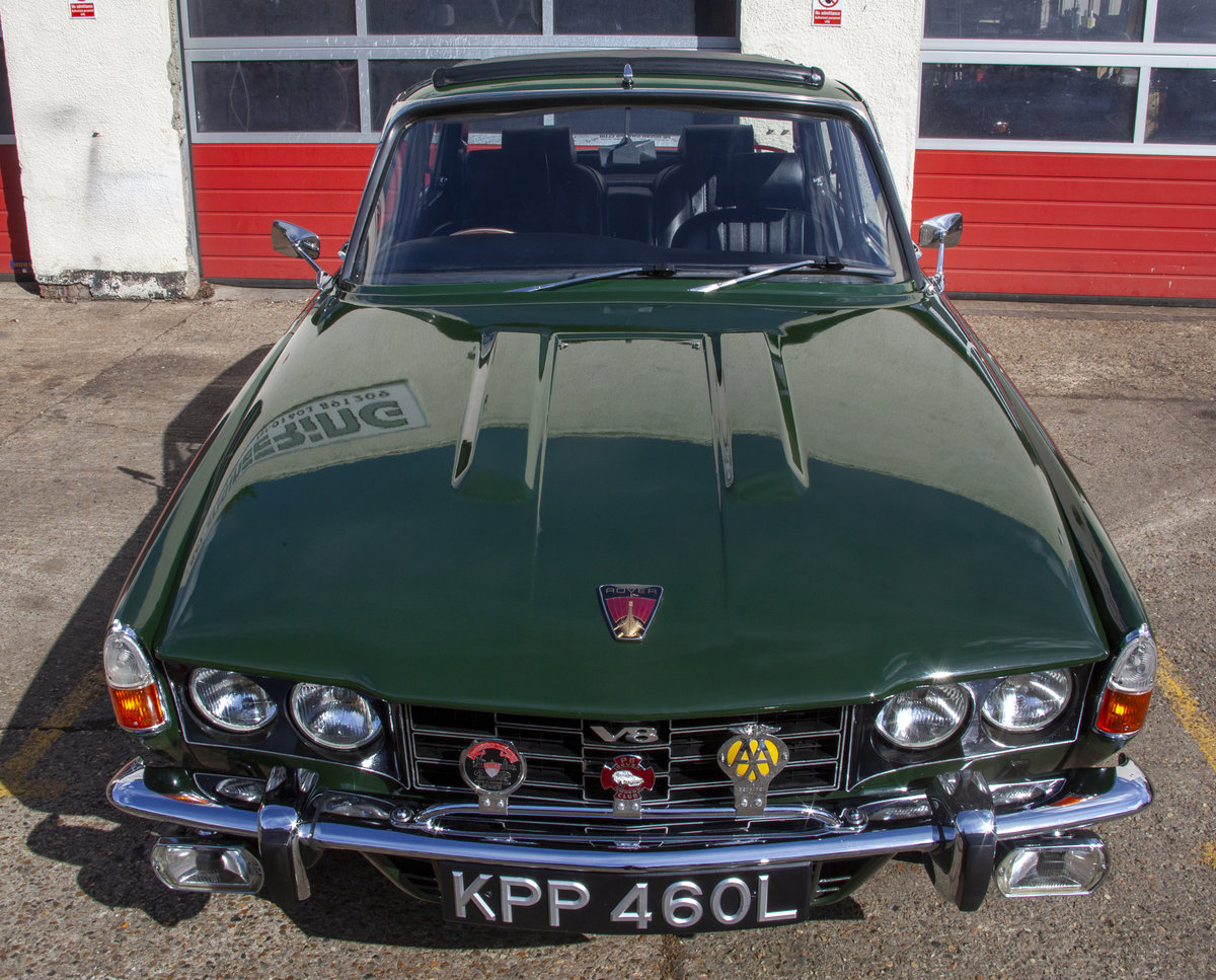 1972 Rover P6 3500S 3.5 RPi Overhauled V8 Manual For Sale (picture 2 of 6)