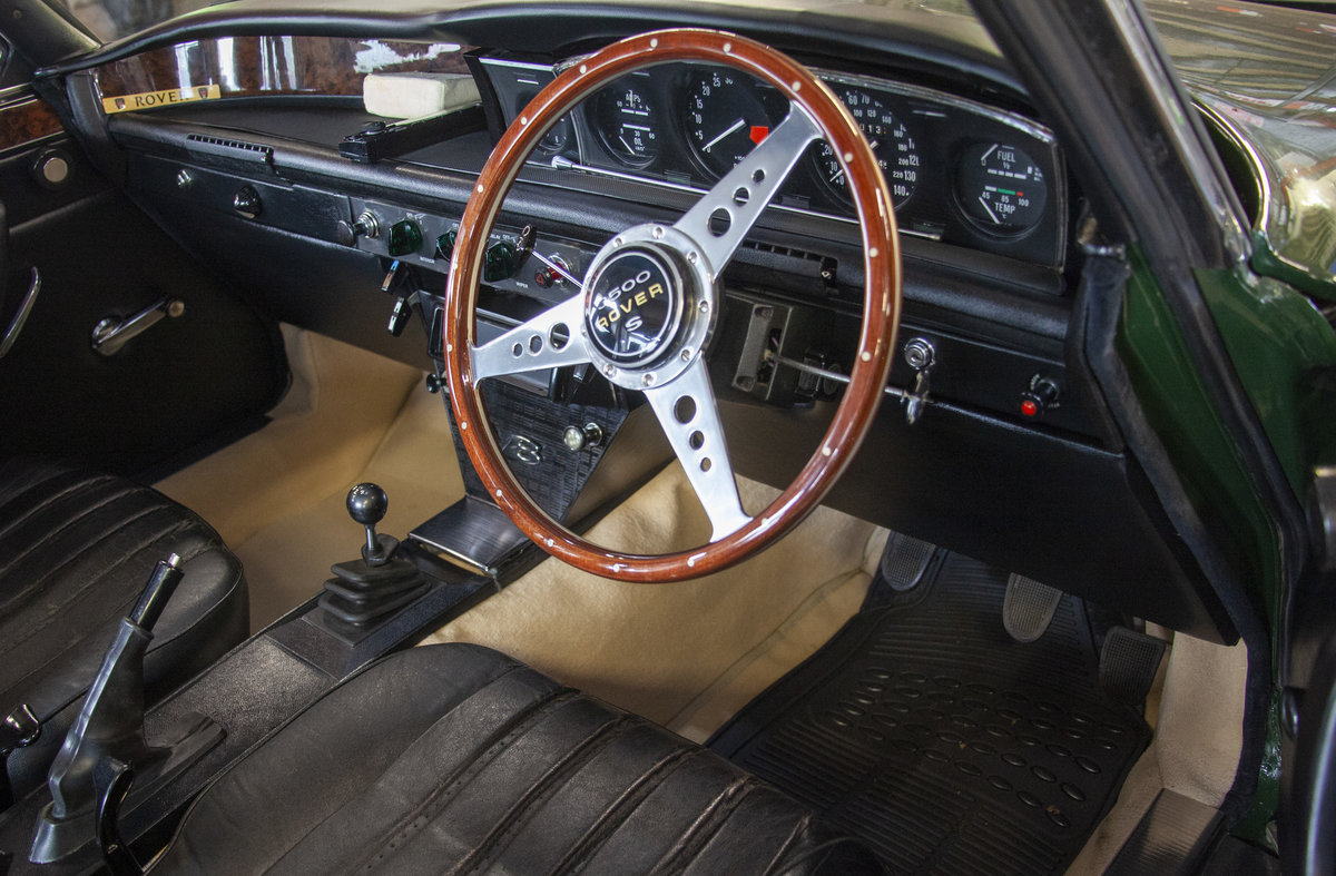 1972 Rover P6 3500S 3.5 RPi Overhauled V8 Manual For Sale (picture 3 of 6)