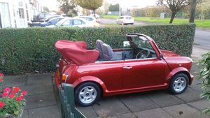 1993 Rover mini lamm convertible