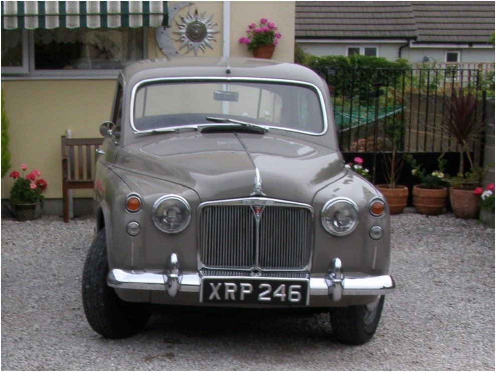 1961 rover p 4  SOLD (picture 1 of 4)