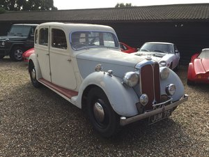 1937 Rover P2 12 Exciting Project