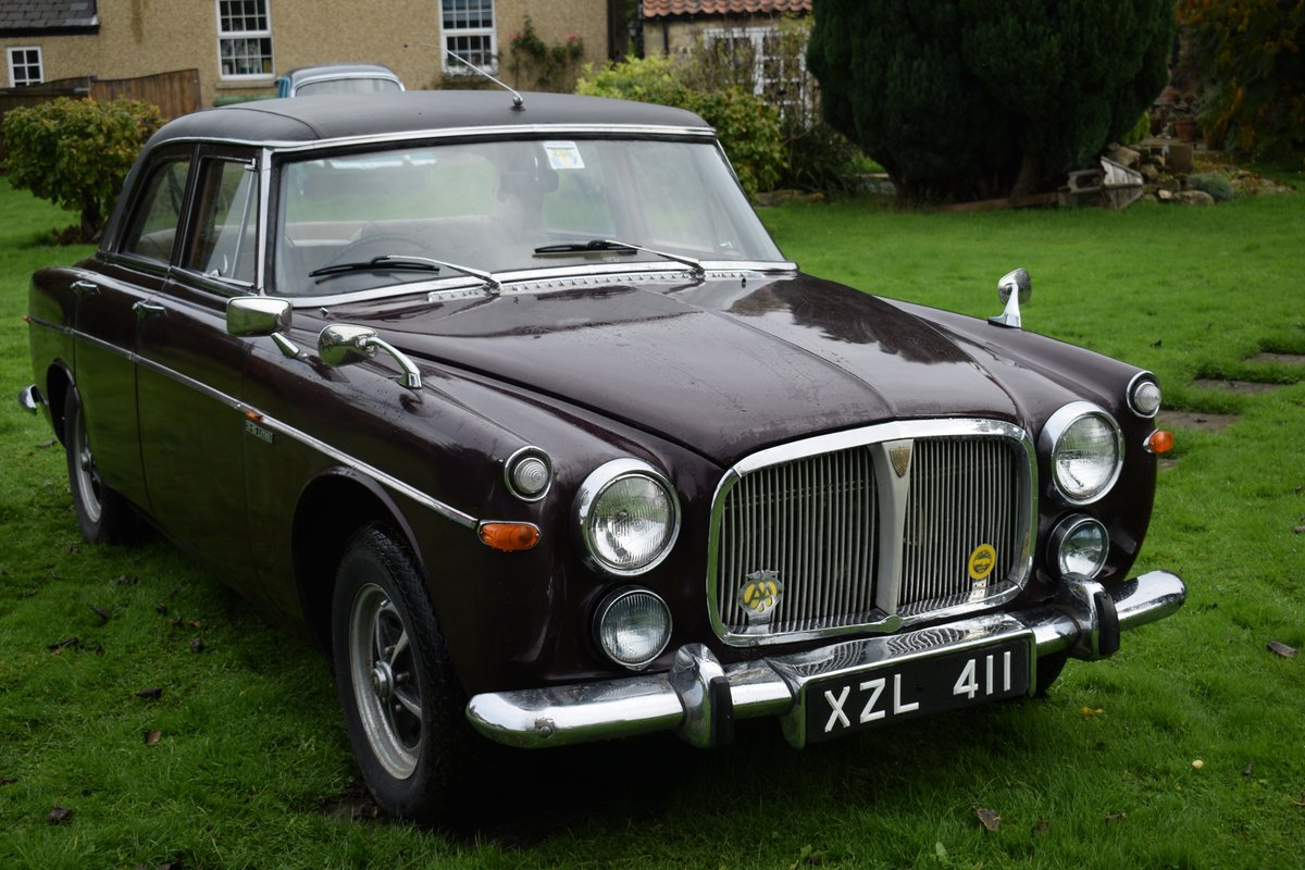 1968 ROVER P5B - VERY EARLY EXAMPLE, TOTALLY SOLID! SOLD (picture 1 of 6)